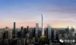 北京第一高楼中国尊着装在即,2017年底完工!